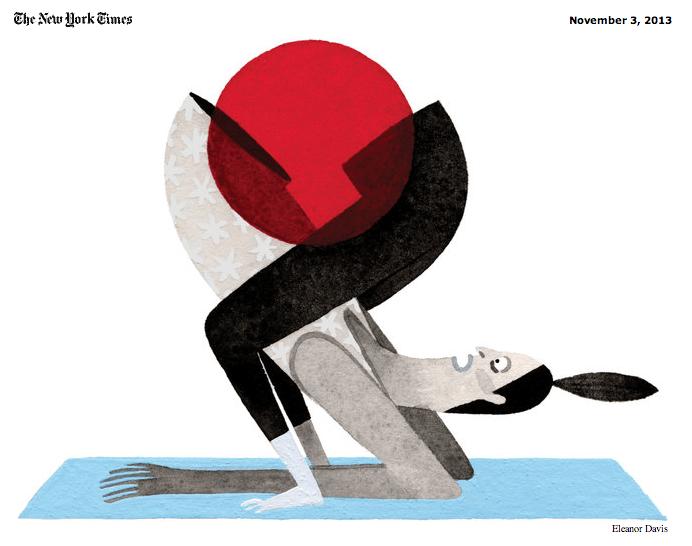 new york times women's flexibility in yoga