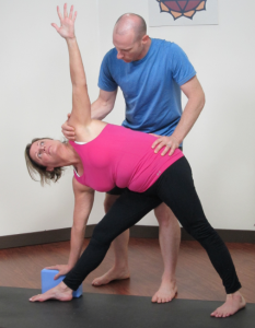 triangle asana yoga anatomy posture