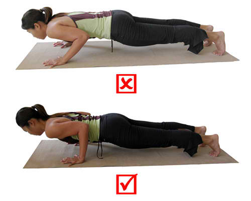 chaturanga compare wrists pain yoga