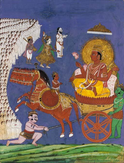 suraya on chariot