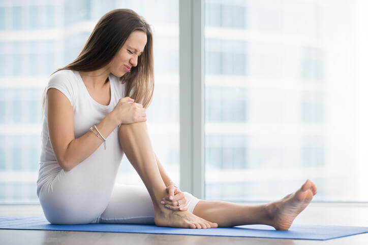 "Featured image for ""How Do You Know What Yoga Practice To Do When You're Injured?"""