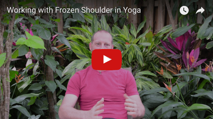 frozen shoulder yoga