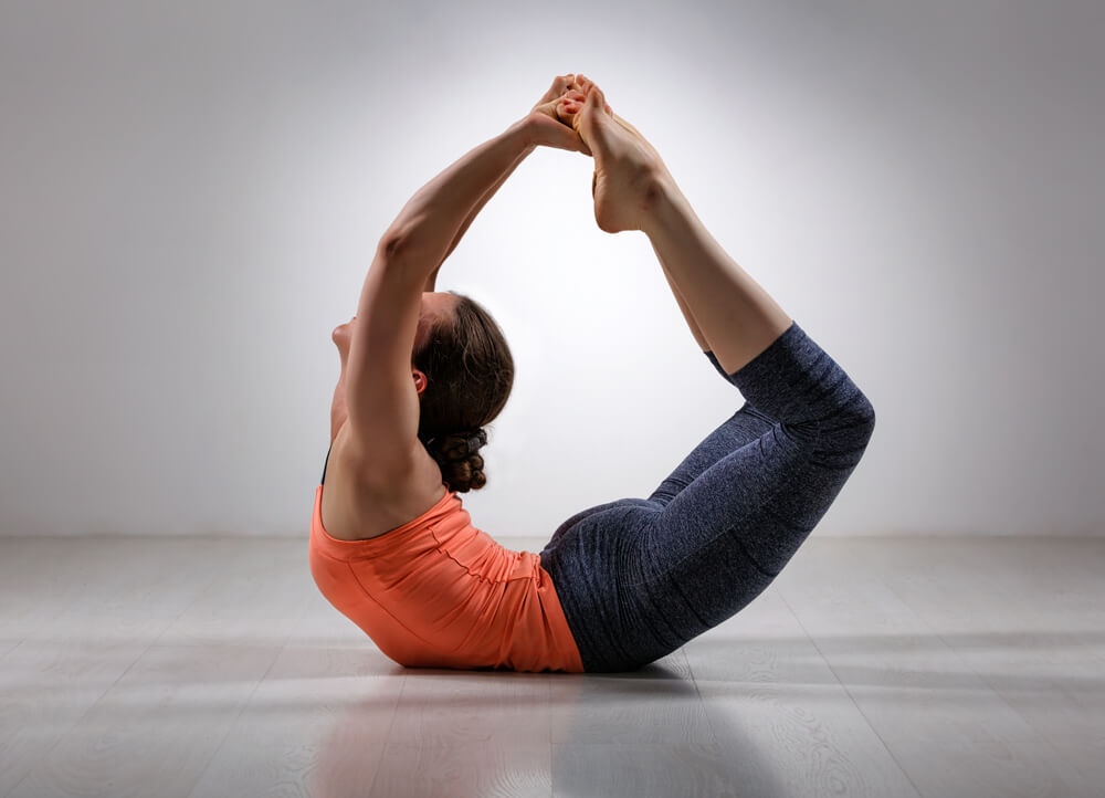 psoas muscle in dhanurasana