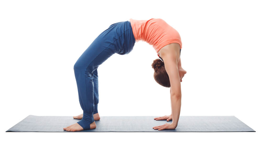 Using the Diaphragm Muscle in Urdhva Dhanurasana
