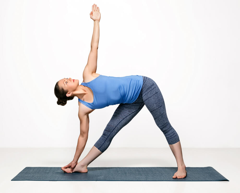 Triangle and Revolved Triangle Pose: What Are Our Intentions?