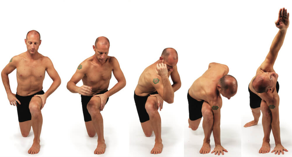 Revolved Side Angle Pose Sequence
