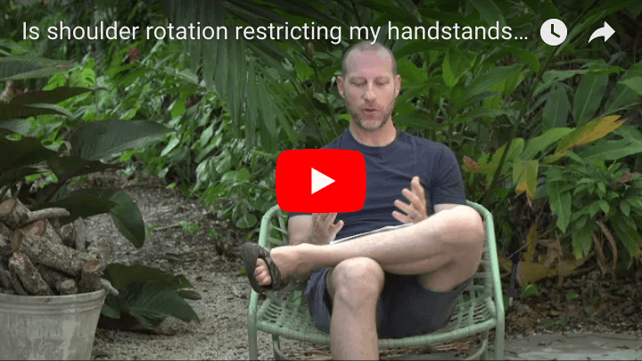 Is shoulder rotation restricting my handstands and arm balances?