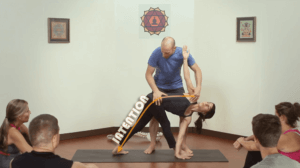 Adjusting Triangle Pose And Revolved Triangle