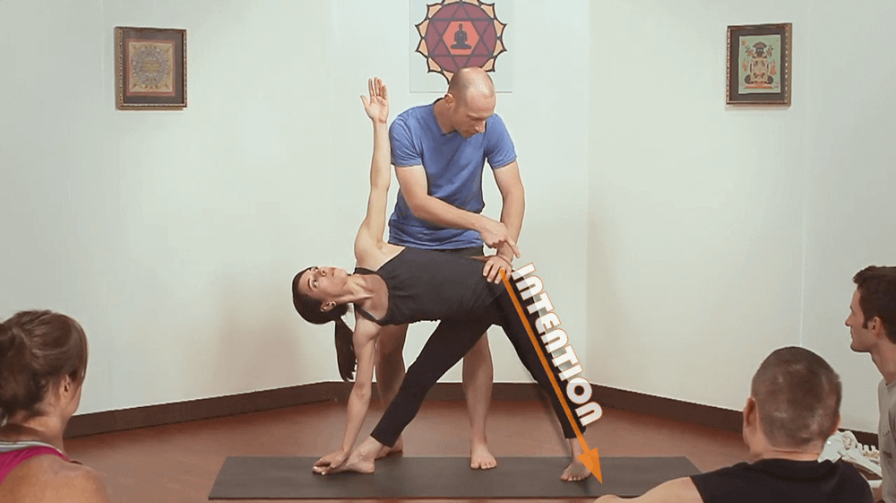 Grounding In Triangle Pose