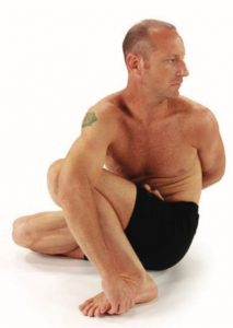 Marichyasana D Binding Option