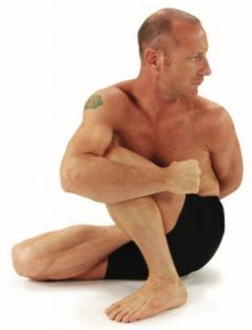 Marichyasana D Option