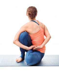 Should The Sit Bones Be Down In Marichyasana D?