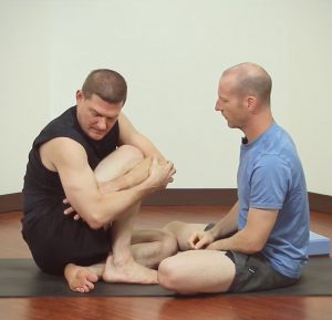 Marichyasana D With Leg Tucked