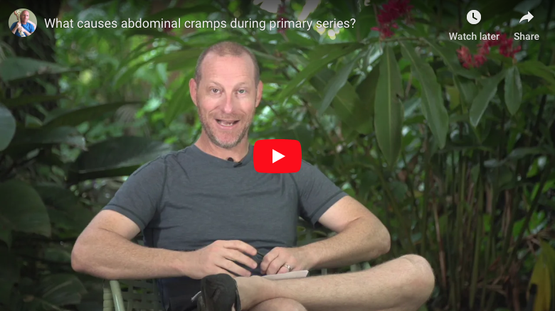 What Causes Abdominal Cramps During Primary Series?