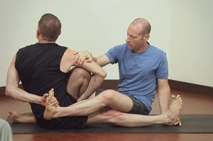 Foot Bind Assist When Adjusting Marichyasana C