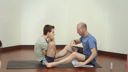 Garbha Pindasana And Kukkutasana