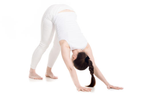 How Should You Line Up The Feet In Downward Dog?