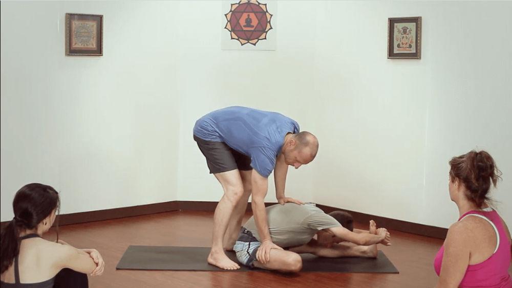 How To Adjust Janu Sirsasana A