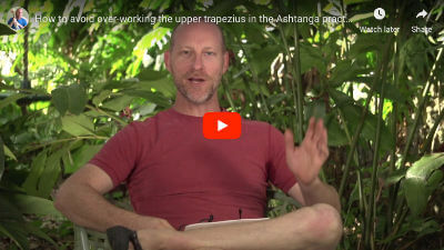 "Featured image for ""How Do I Avoid Overworking The Upper Trapezius In The Ashtanga Practice?"""