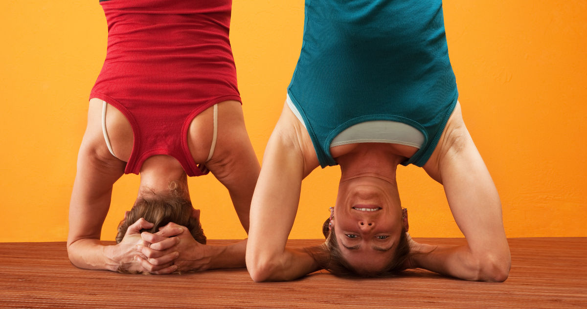 Blood Flow During Headstand